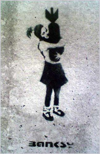 Banksy-bomb-hugger